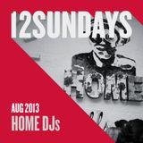Home DJs - 12Sundays Mix August 2013