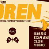 Diggin'Radio & Freenetik Party present Bredren // Mi-tzu's Appetizer //