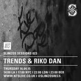 Slimzos Sessions w/ Riko Dan & Trends - April 16th 2015
