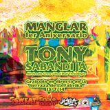SweatCast#23 - Tony Sabandija - Live Mix @ Manglar #4 13/07/14