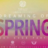2015-04-11 Fresco Special Present ⎯『Dreaming of Spring』Afternoon Outdoor Party (DJ K-VAN Mix)