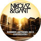 Nikolaz & Gant - Summer Anthems 2012