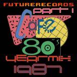 FutureRecords - Cafe 80s Yearmix 1987 Part 1