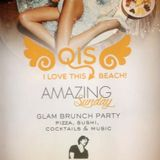 amazing sunday on qis beach club of belek turkey   max correnti dj e di stefano sax