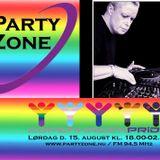 Oscar Bar Café Pride with PartyZone.nu the 15 Of August DJ Zebitz
