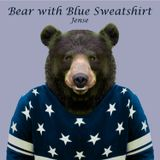 Bear with Blue Sweatshirt
