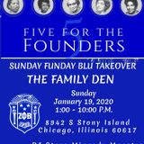 A Night @ the Family Den: Sunday Funday Blue Takeover - 19 Jan 2020