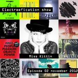 Electreefication show – episode 02 [Miss Kittin]