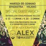 Open Party 05.01.2016 @ Indastria Milan Italy