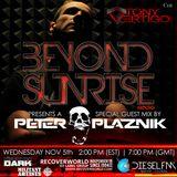 Beyond Sunrise radio...Cvii with Peter Plaznik