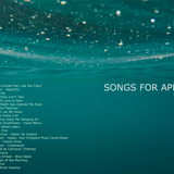 SONGS FOR APRIL 2017