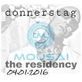 donnerstag LIVE! from MOUSAI 04.01.2016 - THE RESIDENCY BEGINS