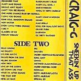 DJ Craig G - Sneekin' Up On That Ass II (Side A)