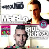 Glazersound Radio Show Episode #63 Special Guest MaRlo__Paul Richard