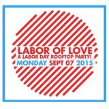 Shaun Whitcher LIVE at LABOR OF LOVE :: A Labor Day Rooftop Party @ THE MONKEY LOFT