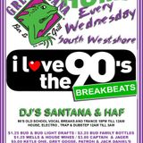 LIVE FROM GREEN IGUANA SOUTHWESTSHORE DJ SANTANA AND DJ HAF