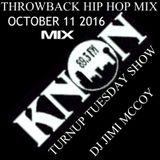 TURNUP TUES KNON  OCT 2016 TB HIPHOP DJ JIMI MCCOY