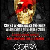 COBRA WEDNESDAYS: 28-11-12  PREVIEW