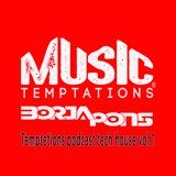 Borja Pons - Temptetions podcast tech house vol.1