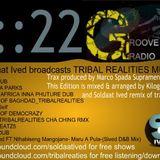 Groove Cutz Radio #22 wit Soldaat Ived Broadcast TRIBAL REALITIES MUSIC