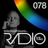 Solarstone presents Pure Trance Radio Episode 078