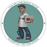 45 Live Radio Show pt. 35 with guest DJ JON MORE