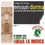 NEWSROOM #69 - Nessun Dorma (notte bianca), Villa Sorra, Libera La Musica