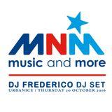 Dj Frederico @ MnM Radio (Urbanice 20/10/16)