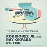 Re.You warm up for mobilee showcase @ Village Underground / 27th June