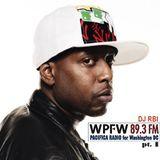 WPFW Live @ 5 - 3/6/17 ft. DJ RBI [Talib Kweli No-Show Mix]