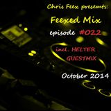 Feexed Mix episode #022 (incl. Helter Guestmix) [October 2014]