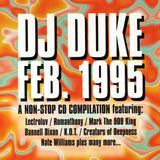 Dj Duke - A Non Stop CD compilation from February of 1995