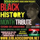 Black History Month Tribute (Main Show) on The Black and White Radio Show Vol. 151 (2-18-19)