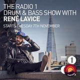 Rene LaVice - BBC Radio 1 (DLR, Frankee, Submorphics & GLXY Guest Mix) (02-01-2017)
