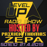 DJ Patrick Thomas - Level UP radioshow S01E10 The Beginning (DJ ZEPA)