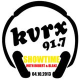Showtime with Robert & Blake - April 10th, 2013 (KVRX 91.7)