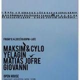Giovani (Trilogy) Dj set @ Open House / massive groove/ctrl-shift