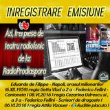 """Inregistrare de la  """"RadioProdiaspora"""""""