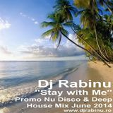 Dj Rabinu - Stay with Me (Promo Nu Disco & Deep House Mix June 2014) - www.djrabinu.ro