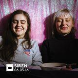 Siren: March 2016