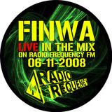 Finwa - Live on Radio Frequency Fm - 06-11-2008