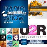 DEEPINSIDE RADIO SHOW 132 (Unique2Rhythm Artist of the week)