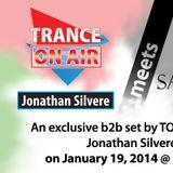 Jonathan Silvere B2B Yote - Live @ TranceFamily Palestine 1 Year Celebration DAY 2 19.01.14