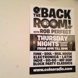 Backroom, Colne Radio mix 2016