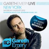 Gareth Emery - Live at Governors Island NYC - 04.08.2012
