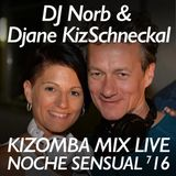 NOCHE SENSUAL Live Mix 716 Compiled by DJ Norb & DJane KIZ Schneckal