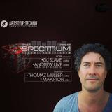 Maarton @ Spectrum Techno Radio Show #149, September 28, 2019