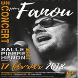 Emission du 10/02/2018 avec les organisateurs du concert pour Fanou