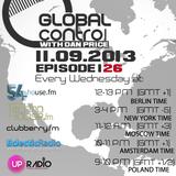 Dan Price - Global Control Episode 126 (11.09.13)