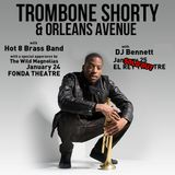 Opening set for Trombone Shorty at the El Rey 1/25/14